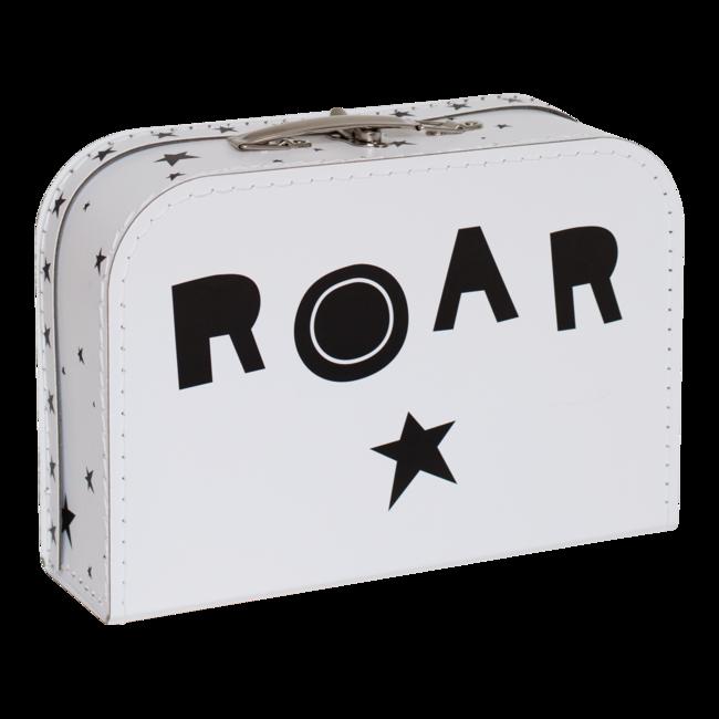 8c95c02247965 Detský kufrík A Little Lovely Company - lion · Detský kufrík s motívom leva  a s nápisom ROAR z opačnej strany.