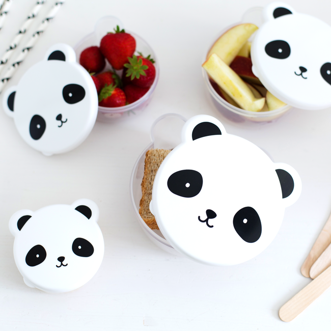 27140533c850b Sada desiatových boxov A Little Lovely Company - panda