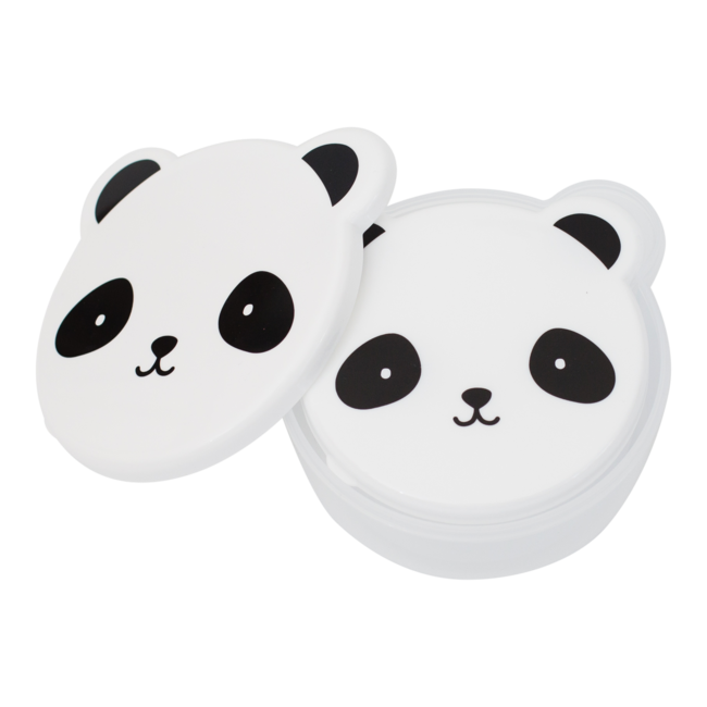 22aa1d5a1ff8e Sada desiatových boxov A Little Lovely Company - panda. Set 4 desiatových  boxíkov rôznych veľkostí.