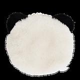 Mäkká plyšová peňaženka v tvare pandy.