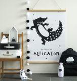 Plagát na stenu A Little Lovely Company - Aligator