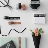 Washi páska Design Letters - Say It With Tape