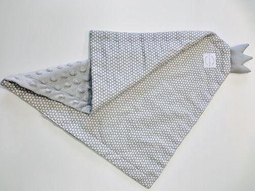 Bavlnený spinkáčik - šedý