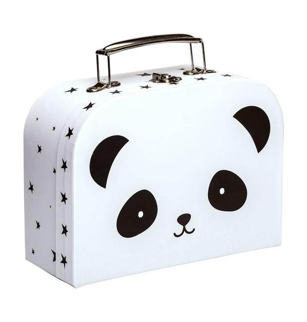 f2cf9714012d5 Detský kufrík A Little Lovely Company - panda
