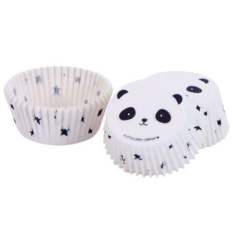 Košíčky na muffiny A Little Lovely Company - panda