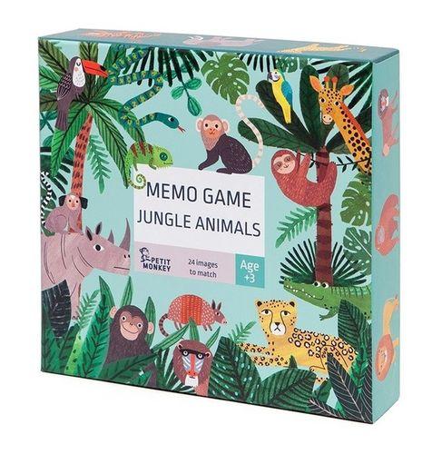 Pexeso Petit Monkey - Jungle Animals