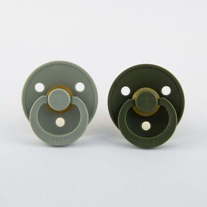 BIBS cumlíky veľkosť 2 - sage-hunter green