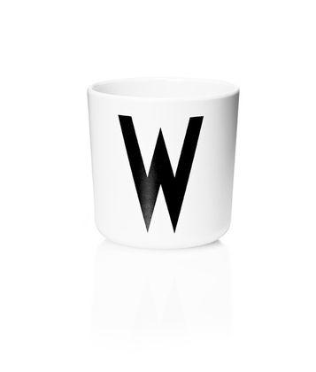Detský pohárik s písmenom W - Design Letters