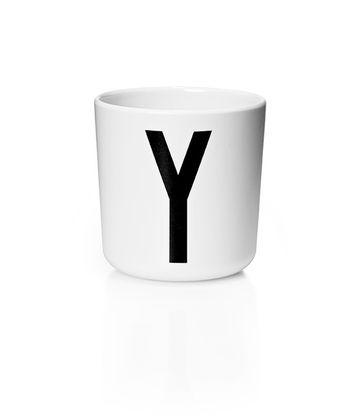 Detský pohárik s písmenom Y - Design Letters