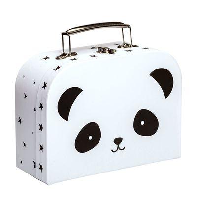 Detský kufrík A Little Lovely Company - panda