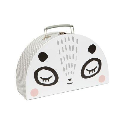 Detský kufrík s motívom pandy - Double Face