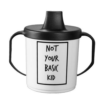 Detský pohárik s náustkom - NOT YOUR BASIC KID
