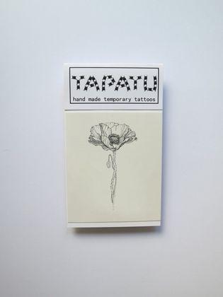 Dočasná tetovačka TAPATU - divý mak