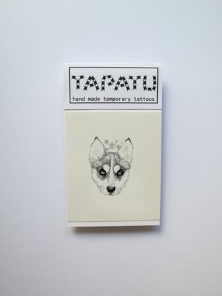 Dočasná tetovačka TAPATU - husky