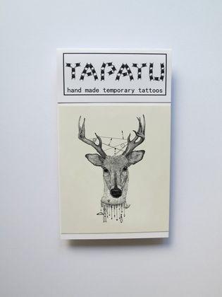 Dočasná tetovačka TAPATU - jeleň
