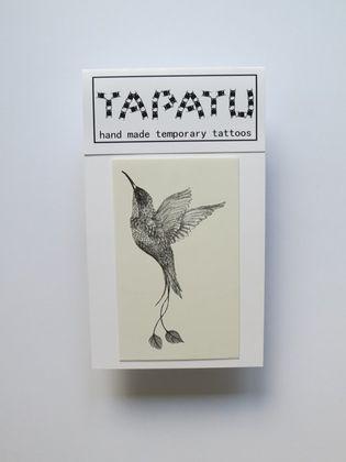 Dočasná tetovačka TAPATU - kolibrík