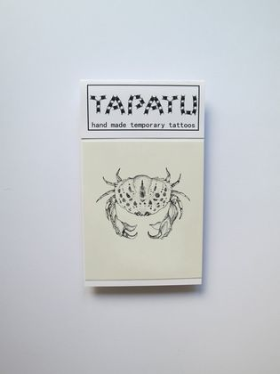 Dočasná tetovačka TAPATU - krab
