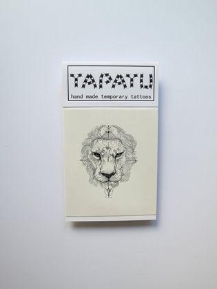 Dočasná tetovačka TAPATU - lev