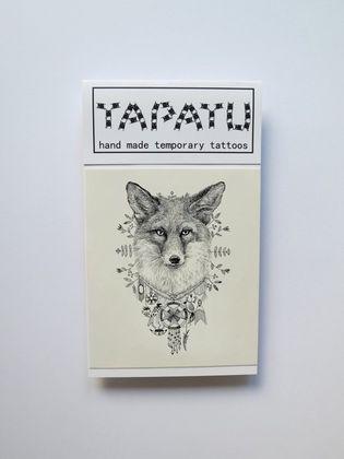 Dočasná tetovačka TAPATU - líška