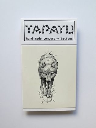 Dočasná tetovačka TAPATU - vlk