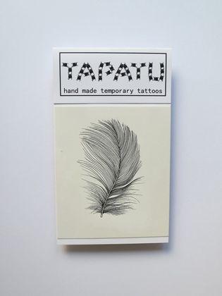Dočasná tetovačka TAPATU - pierko
