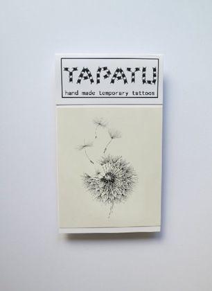 Dočasná tetovačka TAPATU - púpava
