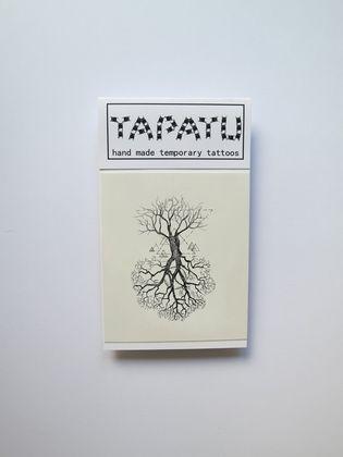 Dočasná tetovačka TAPATU - strom
