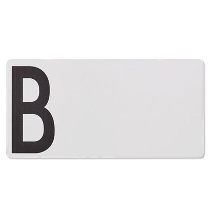 Drevená doska na krájanie Design Letters - B (outlet)
