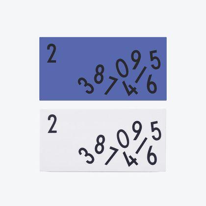 Gumy na ceruzky Design Letters - 2ks