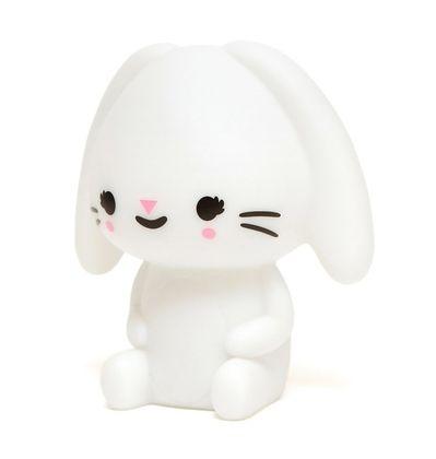 Nočná LED lampa biely zajačik - White Bunny