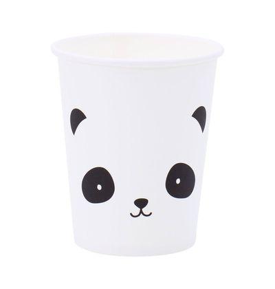 Papierové party poháriky A Little Lovely Company - panda