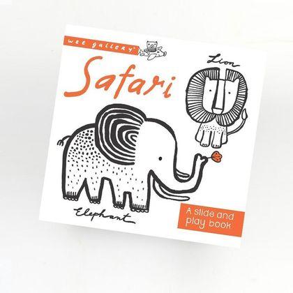 Safari interaktívna knižka - slide and play