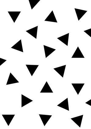 Samolepky na stenu - trojuholníky