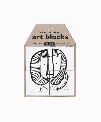 Wee Gallery kocky Art Blocks - WILD