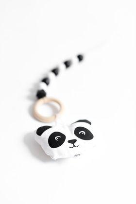 Závesná hračka na hrazdičku - panda