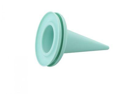 Zmrzlinový silikónový kornútok - cillicone - aqua