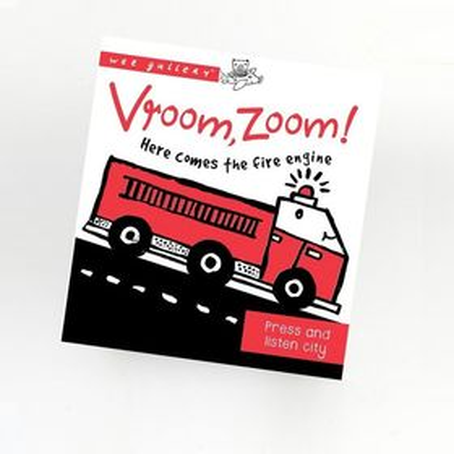 Zvuková knižka - stlač a počúvaj, dopravné prostriedky